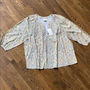 Universal Thread Floral Blouse